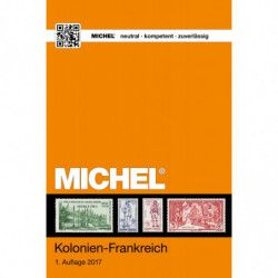 Catalogue Michel timbres des colonies Françaises avant indépendance.