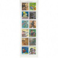 Carnet commémoratif de timbres - Le plaisir d'écrire 1993.
