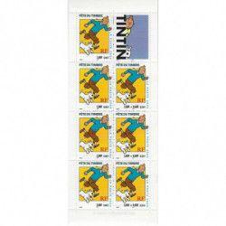 "Carnet ""Fête du timbre"" 2000 - Tintin."