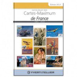 Catalogue des cartes maximum de France 1901-2016.