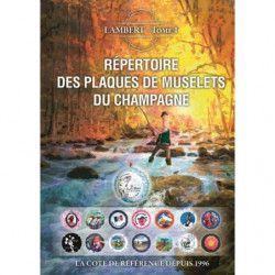 Répertoire Lambert des plaques de muselets du champagne 2018.