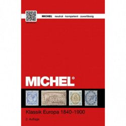 Catalogue de cotation Michel timbres d'Europe Classique 1840-1900.