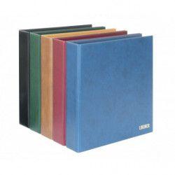 Album Lindner à 2 vis pour timbres-poste avec 10 feuilles mobiles.