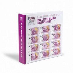Album pour collectionner 200 billets Euro Souvenir.