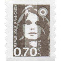 Timbre autoadhésif de France N°6 neuf.