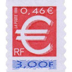 Timbre autoadhésif de France N°24 neuf.
