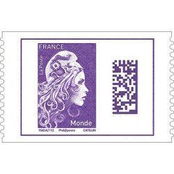 Marianne l'engagée timbre autoadhésif  N ° 1604 neuf.