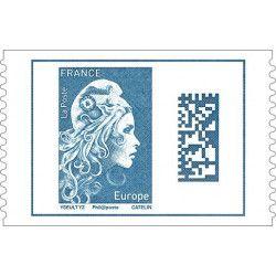 Marianne l'engagée timbre autoadhésif N ° 1603 neuf.