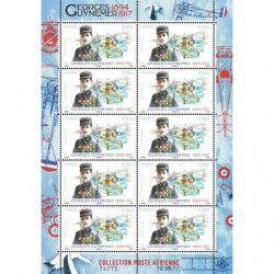 Mini feuille de 10 timbres...