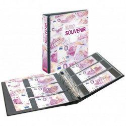 Album Publica M pour collectionner billets Euro Souvenir.