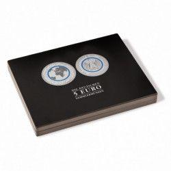 Coffret numismatique noir pour 30 pièces de 5 euros allemandes