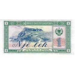 Albanie 4 billets de banque neufs tous différents.