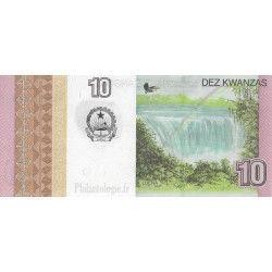Angola 5 billets de banque neufs tous différents.