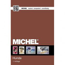 Catalogue de cotation Michel timbres thématiques Chiens.