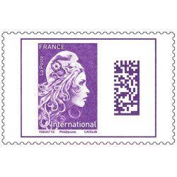 Marianne l'engagée timbre...