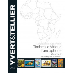 Catalogue Yvert de cotation timbres d'Afrique Francophone Volume 2 - 2018.