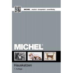 Catalogue de cotation Michel timbres thématiques Chats.