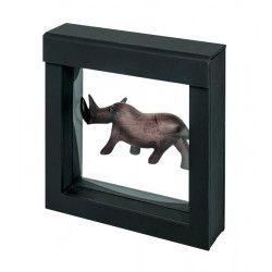 Cadre noir Nimbus 100 pour objets de collections.
