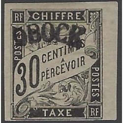 Obock 1892 timbre-taxe N°3 neuf* SUP.