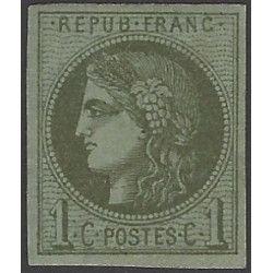 Bordeaux timbre de France N°39 A neuf* SUP.