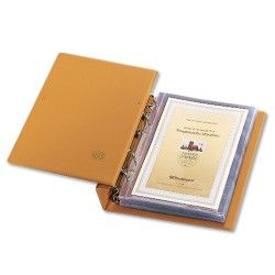 Album Compact Safe pour 80 mini-feuilles, documents A5.