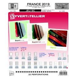 Jeux SC France 2019 premier semestre avec pochettes.