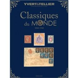 Catalogue des timbres Classiques du monde 1840-1940.