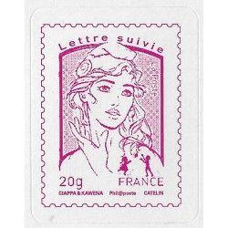 Marianne et la Jeunesse timbre autoadhésif N ° 1515 A neuf.