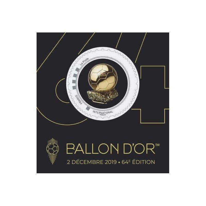 Collector Ballon d'Or autoadhésif.