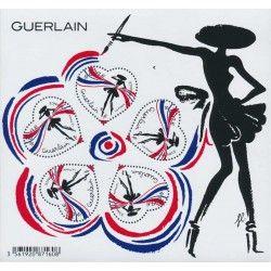 """Bloc-feuillet de timbres de France N° 148 """"Cœur - Guerlain""""."""