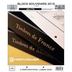 Jeux FS France blocs souvenirs 2019 sans pochettes.