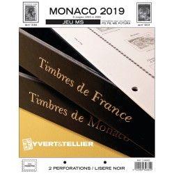 Jeux MS timbres de Monaco 2019 sans pochettes.