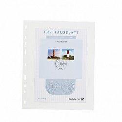 Pochettes plastique Optima pour documents format A5.