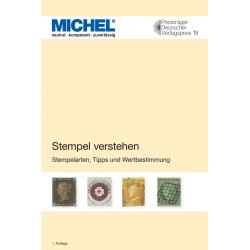 """Catalogue Michel """"Comprendre les oblitérations""""."""