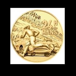 """Médaille """"Circuit 24 heures du Mans - Départ Couru"""" 2020 - Monnaie de Paris."""