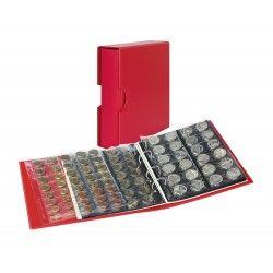 Album Publica M Color Lindner pour ranger 300 monnaies de collection.