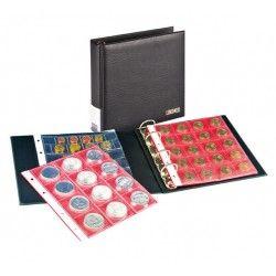 Album numismatique Publica S Lindner avec 5 feuilles Karat.
