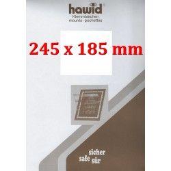 Bandes Hawid 245 x 185 mm pour blocs de timbres.