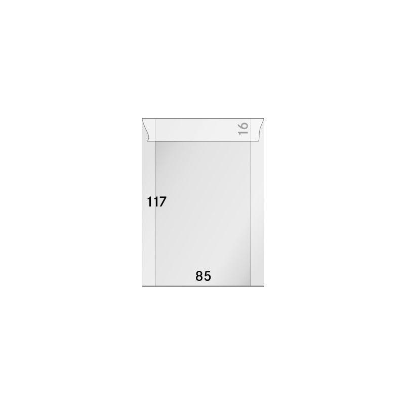 Pochettes cristal 85 x 117 mm - paquet de 500.