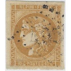Bordeaux timbre de France N° 43Ba oblitéré SUP.
