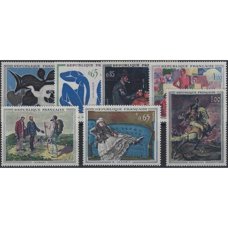 Musée imaginaire 1961-1962 timbres de France neuf** SUP.