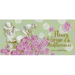 """Bloc souvenir N° 168A-B """"Fleurs de Grasse et Méditerranée"""" neuf** SUP."""