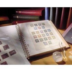 Feuille pré imprimée Lindner-T feuille spéciale 25 ans fondation Prince d'asturies 2005.