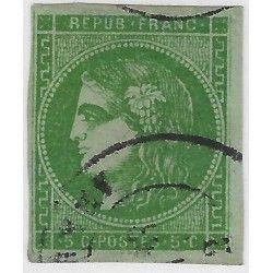 Bordeaux timbre de France N° 42Ba oblitéré TB / SUP.