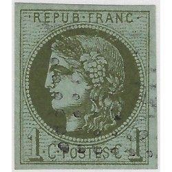 Bordeaux timbre de France N° 39A oblitéré SUP.