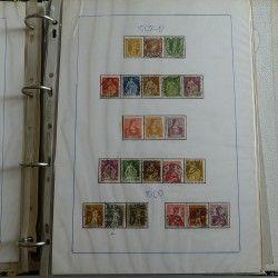 Collection timbres Suisse 1882-1989 neufs - oblitérés, SUP.