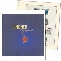Feuilles pré imprimées Lindner-T Allemagne Cartes postales 2017.