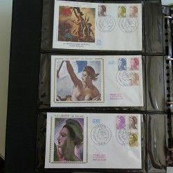 """Collection commémorative """"Marianne de Libérté"""" SUP."""