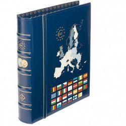 Album Vista Leuchtturm spécial monnaies Euro avec étui de protection.