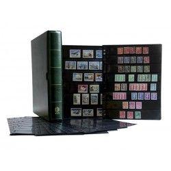 Album Initia garni de 10 recharges pour timbres-poste.